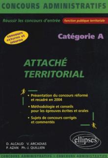 Attaché territoral - catégorie A