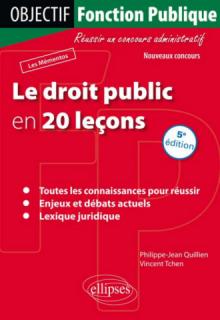Le droit public en 20 leçons - 5e édition