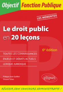 Le Droit public en 20 leçons - 6e édition