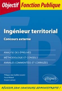 Concours externe d'Ingénieur territorial