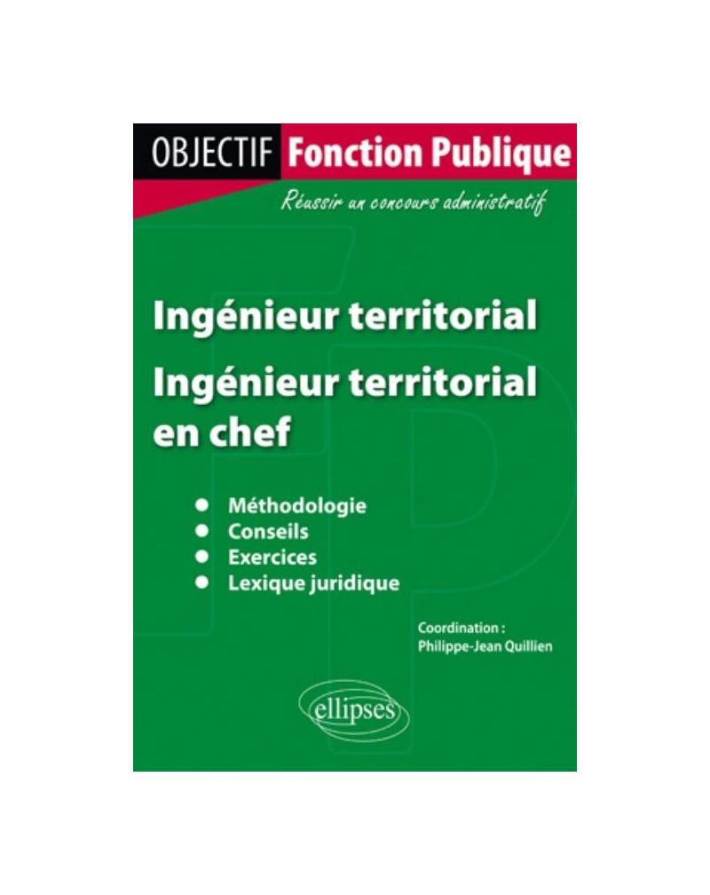 Ingénieur territorial : Ingénieur territorial en chef