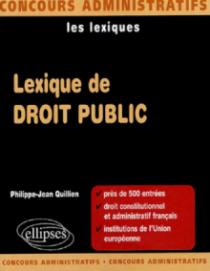 Lexique de droit public
