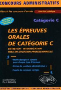 Les épreuves orales de catégorie C
