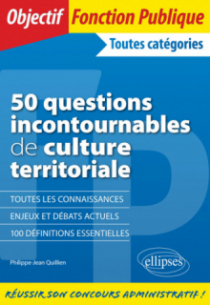 50 questions incontournables de culture territoriale