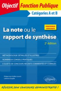 La note ou le rapport de synthèse - 2e édition
