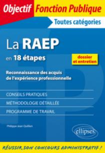 La RAEP en 18  étapes. Reconnaissance des acquis de l'expérience professionnelle