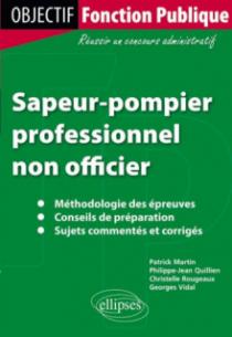 Sapeur-pompier professionnel non officier.