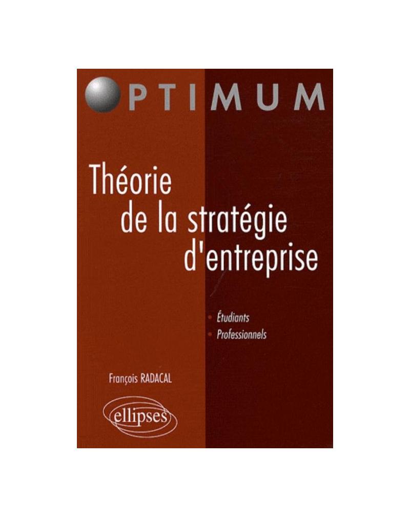 Théorie de la stratégie d'entreprise