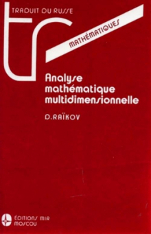 Analyse mathématique multidimensionnelle