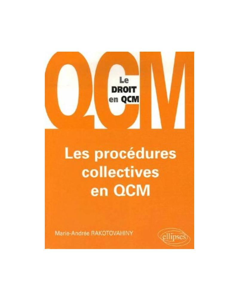 Les procédures collectives en QCM