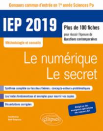 Concours commun IEP 2019. Plus de 100 fiches pour réussir l'épreuve de questions contemporaines - entrée en 1re année d'IEP/Sciences PO