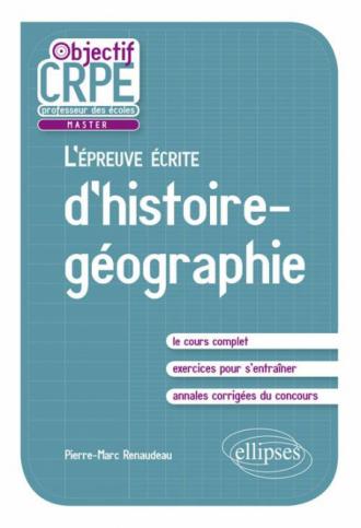 L'épreuve écrite d'histoire-géographie