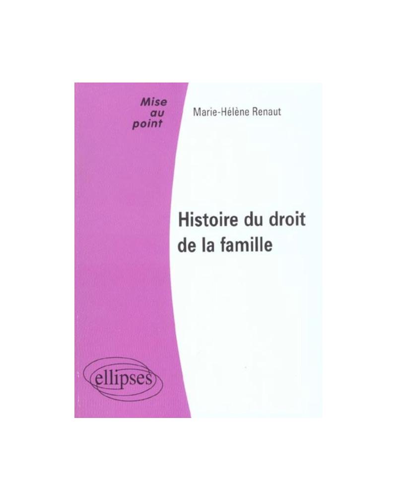 Histoire du droit de la famille