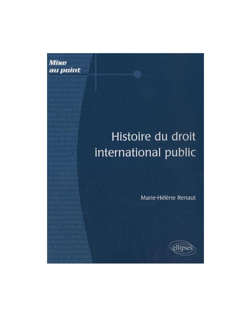Histoire du droit international public