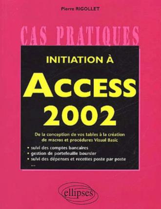 Initiation à Access 2002
