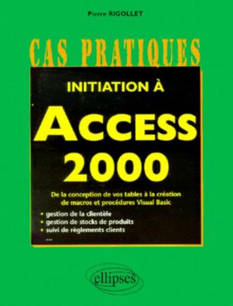 Initiation à Access 2000