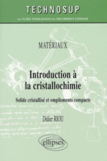 Introduction à la cristallochimie
