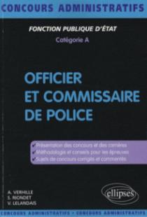 Officier et commissaire de police