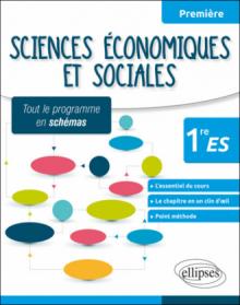 Sciences économiques et sociales - Première ES - tout le programme en schémas