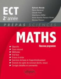 Maths ECT 2e année - conforme au programme 2015