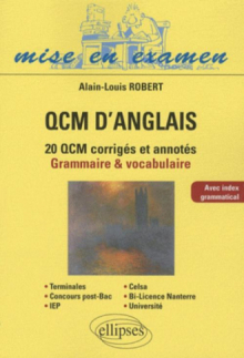QCM d'anglais. Méthodologie et application