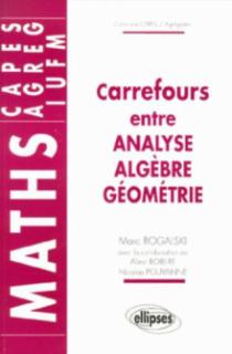 Carrefours entre analyse, algèbre et géométrie