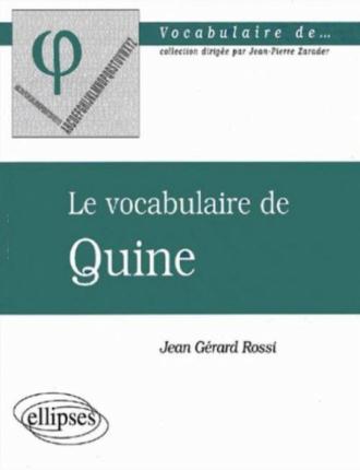 vocabulaire de Quine (Le)