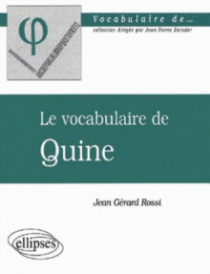 vocabulaire de Quine (Le)