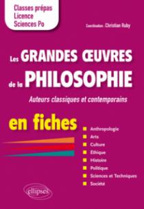 Les grandes oeuvres de la philosophie en fiches. Auteurs classiques et contemporains