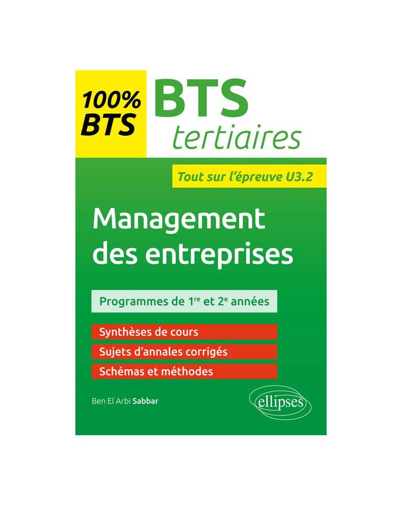 Management des entreprises - BTS tertiaires