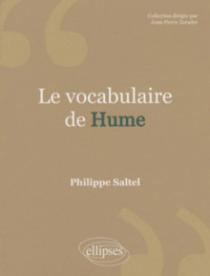 Le vocabulaire de Hume - Nouvelle éd.