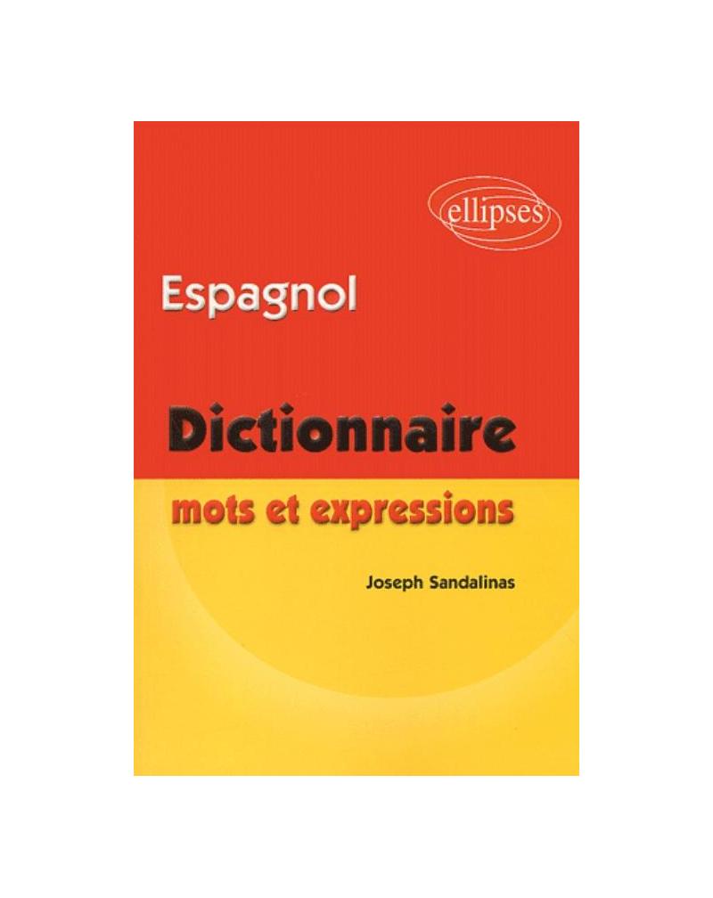 Espagnol Mots et expressions (dictionnaire)