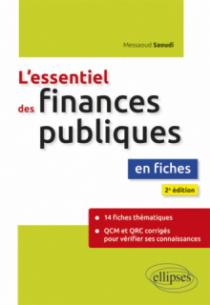 L'essentiel des finances publiques en fiches - 2e édition