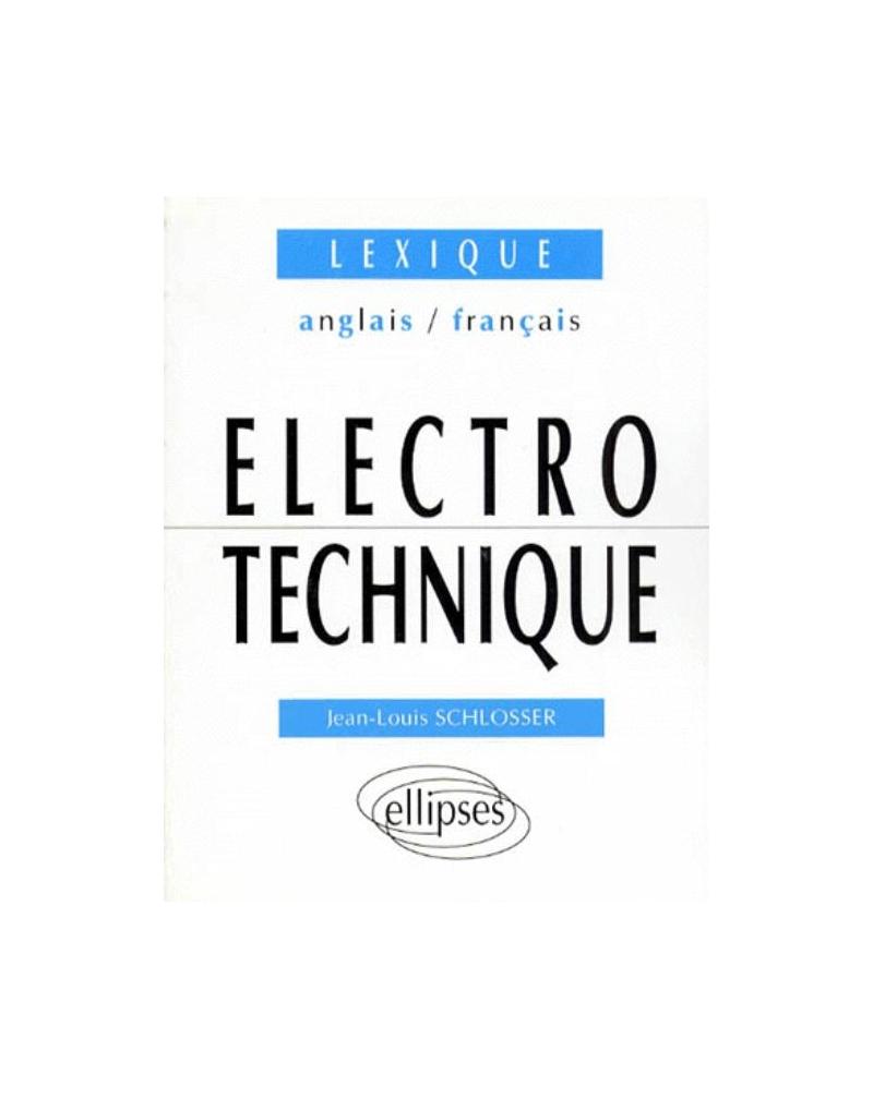 Lexique anglais/français d'Électrotechnique