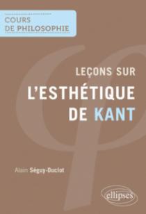 Leçons sur l'esthétique de Kant