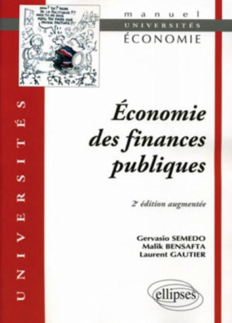 Economie des finances publiques - 2e édition augmentée