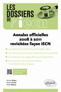Annales officielles 2008 à 2011 revisitées facon iECN