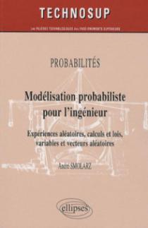 Modélisation probabiliste pour l'ingénieur. Expériences aléatoires, calculs et lois, variables et vecteurs aléatoires - niveau B