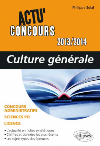 Culture générale - 2013-2014