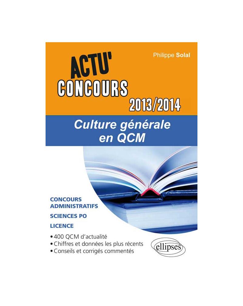 Culture générale en QC2013-2014