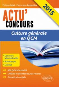 Culture générale en QCM - 2015