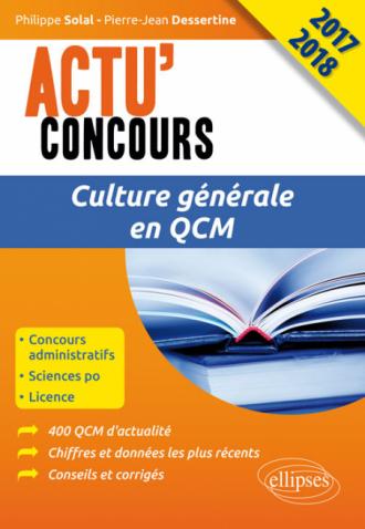 Culture générale en QCM - concours 2017-2018