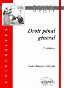 Droit pénal général - 3e édition