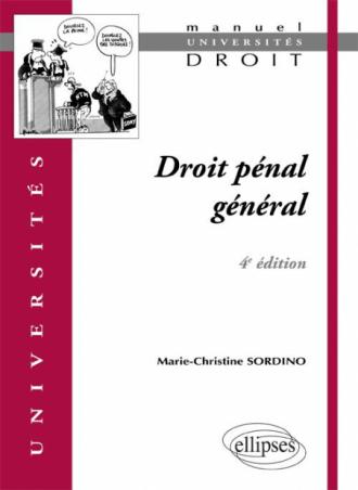 Droit pénal général. 4e édition