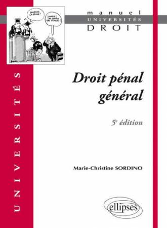 Droit pénal général. 5e édition