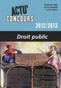 Droit public - 2012-2013
