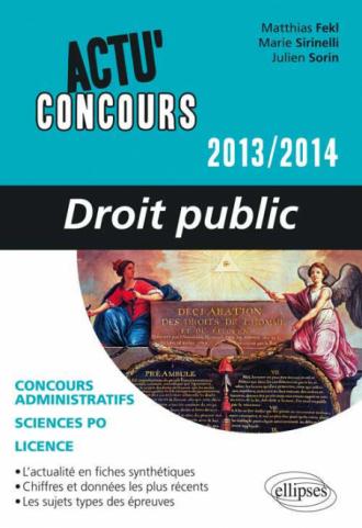 Droit public - 2013-2014