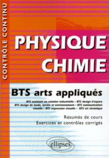 Physique-Chimie - BTS arts appliqués