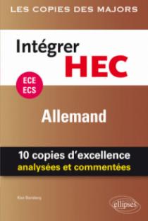 Intégrer HEC – ECE/ECS – Allemand