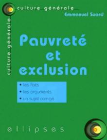 Pauvreté et exclusion